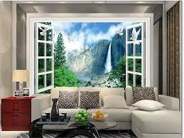 Wallpaper Livingroom by Aliexpress Com Buy 3d Photo Wallpaper Livingroom Custom Mural
