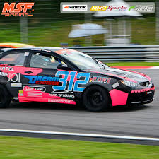 pink and black cars race cars 1600 330 sits first 312 tails close msf racing series