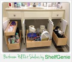bathroom cabinets ideas storage take of bathroom cabinets with shelfgenie of omaha slide