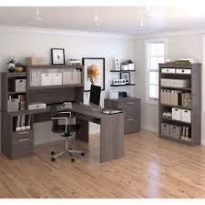 altra sutton l desk with hutch sutton l shape desk with hutch lateral file and 36 commercial