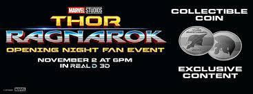 thor ragnarok opening night fan event thor opening night fan event l a live