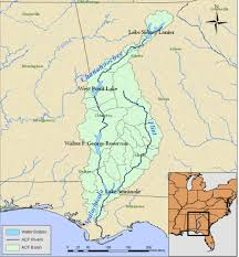 Georgia River Map Waterwired Southeastern And Eastern Usa