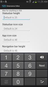 android app icon size how to customize your android system s ui elements on the samsung
