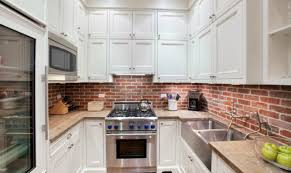 cuisine en brique cuisines credence de cuisine briques mur crédence de cuisine 21