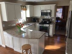 Kitchen Cabinets Redo by From To Great A Tale Of Painting Oak Cabinets