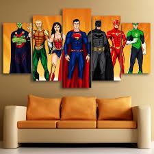Cheap Framed Wall Art by Online Get Cheap Justice League Wall Art Aliexpress Com Alibaba
