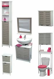 Linen Tower Cabinets Bathroom - free standing bath linen tower cabinet so romantic taupe