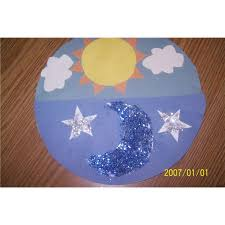 sun moon and crafts mosaic preschool sun moon and