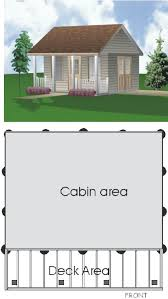 sudbury cabin 16 x 16 with deck building plan 22010 69 99 cabins project plans 2000 great woodworking shed cabin cottage