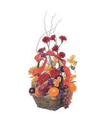 fruit flower basket fruits and flowers basket tf157 4 61 16