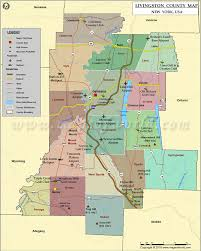 Map Of Us Time Zones by Livingston County Map Map Of Livingston County Ny