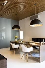 modern minimalist dining room together with furniture feature long