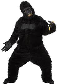 party city halloween mask goin u0027 ape gorilla costume with motion mask harambe escapade uk