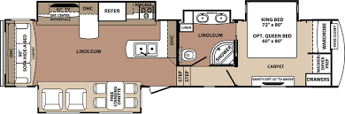 Fifth Wheel Floor Plans Blue Ridge Fifth Wheels Trailers Floor Plans Access Rv