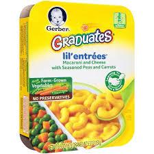 Peas Carrots Halloween Costumes Gerber Graduates Lil U0027 Entrees Macaroni U0026 Cheese Peas