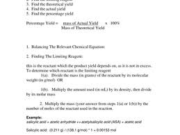 theoretical and percent yield worksheet worksheets releaseboard