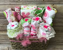 newborn gift baskets newborn gift basket etsy