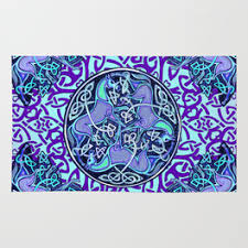 Celtic Rugs Irish Rugs Society6