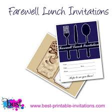 lunch invitation printable lunch invitation