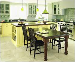 Kitchen Island Tables With Stools Kitchen Island Table With Chairs Kenangorgun Com