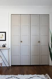 Diy Closet Door Paneled Bifold Closet Door Diy Room For Tuesday Bifold Door Knobs