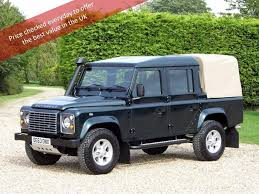land rover defender 2015 price used land rover defender 110 pickup 2 2 d xs crewcab pickup dpf