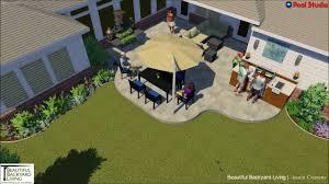 Outdoor Kitchen Frisco Travertine Tile And Outdoor Kitchen Design Youtube