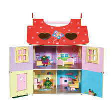 amazon com fantasy fields magic garden hand carry doll house