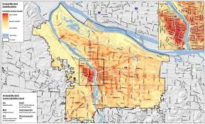 Map Of Portland Where Should Portland U0027s Bikeshare Stations Go Ten Maps That Might