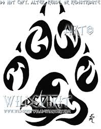14 dog print tattoo designs best 25 cat paw tattoos ideas