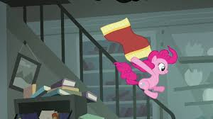 Sliding Down Banister Image Pinkie Pie Sliding Down Railing S4e04 Png My Little Pony