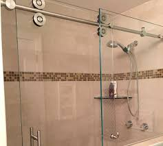 Door Shower Barn Style Glass Shower Doors Builders Glass Of Bonita Inc