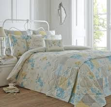 palonia bedding set in duck egg free uk delivery terrys fabrics