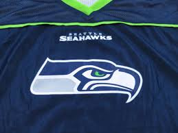 Youth Flag Football Practice Seattle Seahawks Flag Football Nfl Reversible Practice Jersey Sz