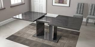 Luxurious Dining Table Dining Table Grey Finish Luxury Dining Table Modern And Chairs