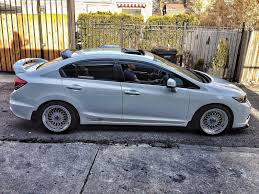 honda civic modified white 2013 honda civic si sedan