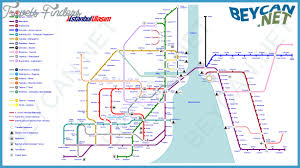 istanbul metro map istanbul metro map pdf archives travel map vacations