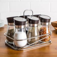 Cream Spice Rack Spice Racks U0026 Bottles Kitchen Stuff Plus