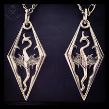 dragon necklace skyrim images Handmade skyrim dragon pendant 1 by gamefancraft png