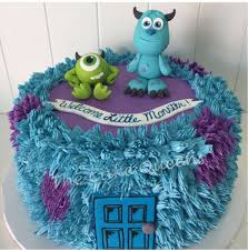 monsters inc babyshower cake yelp