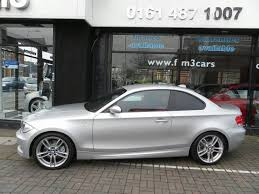 bmw m series for sale used silver bmw 1 series 2008 diesel 123d m sport coupe in great