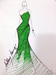6 designers sketch evening gowns for maxine medina preview