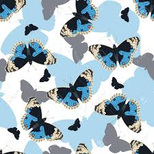 abstract pattern butterfly abstract butterflies seamless pattern on white background blue