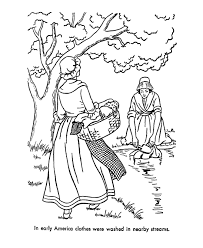 early american home life coloring page free sample join my