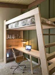 lit bureau adulte plan de interieur maison contemporaine moderne pour bureau fille ado