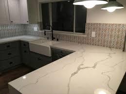 Quartz Kitchen Countertops 38 Best Calacatta Quartz Kitchen Images On Pinterest Calacatta