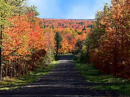 2 mile road michigan fall color tour watersmeet gogebic county