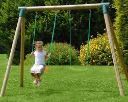 giardino bambini altalena da giardino per bambini doppia in legno 2 posti iris l 2
