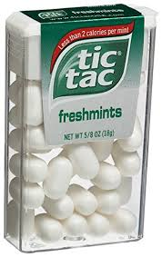 tic tac tic tac freshmint mints 0 625 ounce dispensers pack