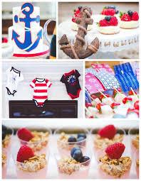anchor baby shower ideas kara s party ideas nautical baby shower birthday party kara s